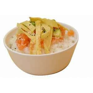 Tartare de riz Saumon cru