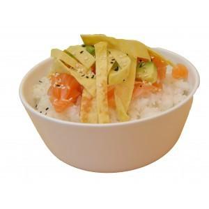 Tartare de riz Saumon cuit
