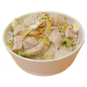 Tartare de riz poulet mayo