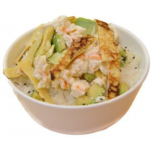 Tartare de riz crabe mayo