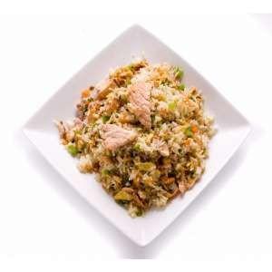 Riz saumon cuit