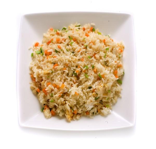 Riz lardons