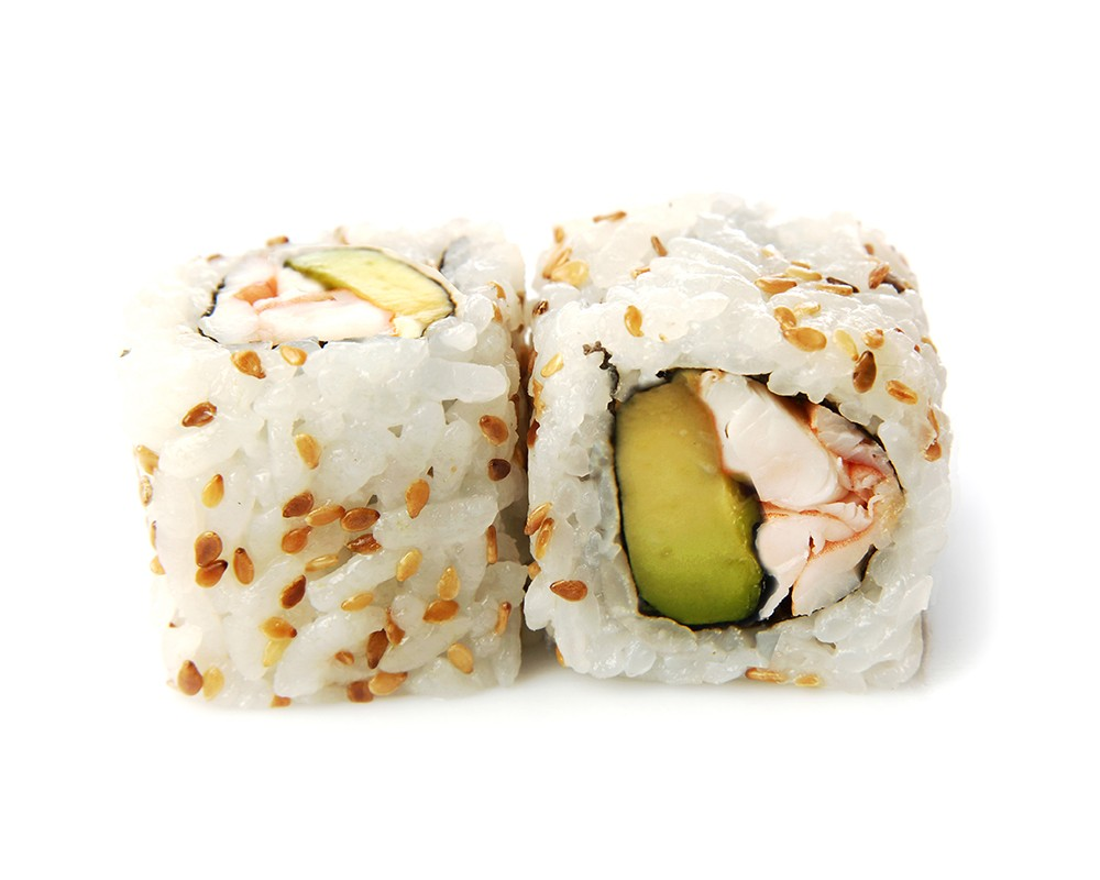 California Crevettes Samouraï Avocat Cheese