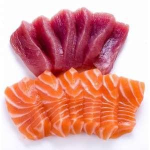 Sashimi Mixte (saumon et thon)