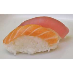Sushi mixte (saumon et thon)