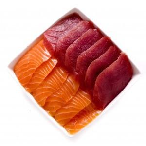Chirachi mixte (saumon et thon)