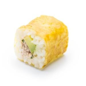Eggi Saumon cuit samouraï avocat